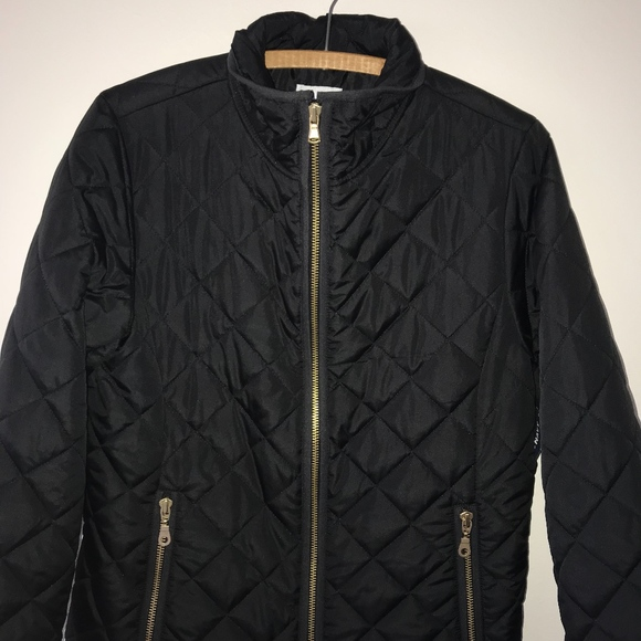 Old Navy Jackets Coats Black Quilted Jacket Womens Medium Poshmark